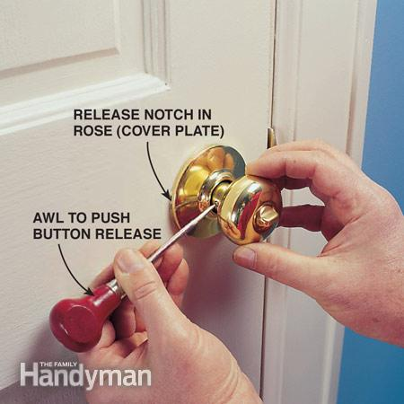 What To Do When Your Door Knob Spoils And You Are Locked