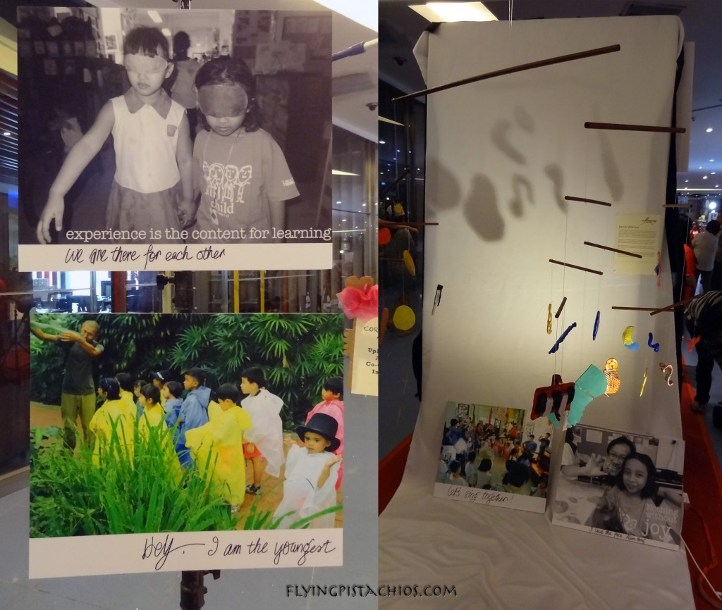 Alvin's personal art installation