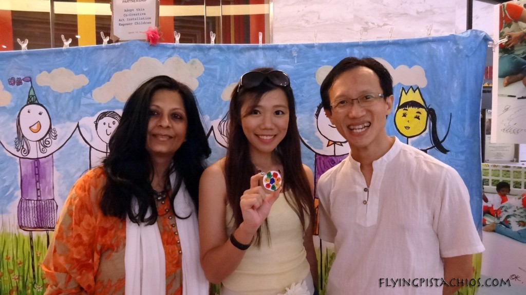 A photo with Alvin Yong of Clay-Street.com and Vashima of Child @ Street 11