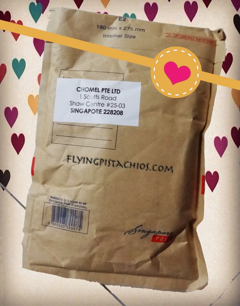 The parcel arrived! Elated!!!