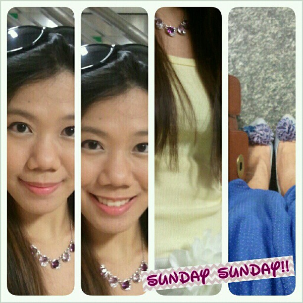 Finally a Sunday with no work!