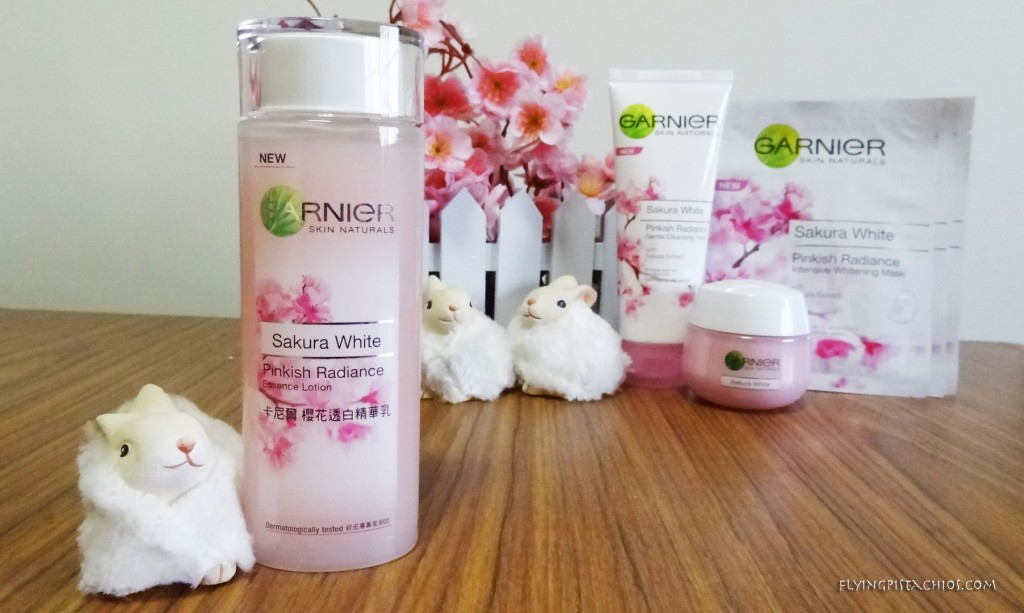The Garnier Sakura White Pink Radiance Essence Lotion