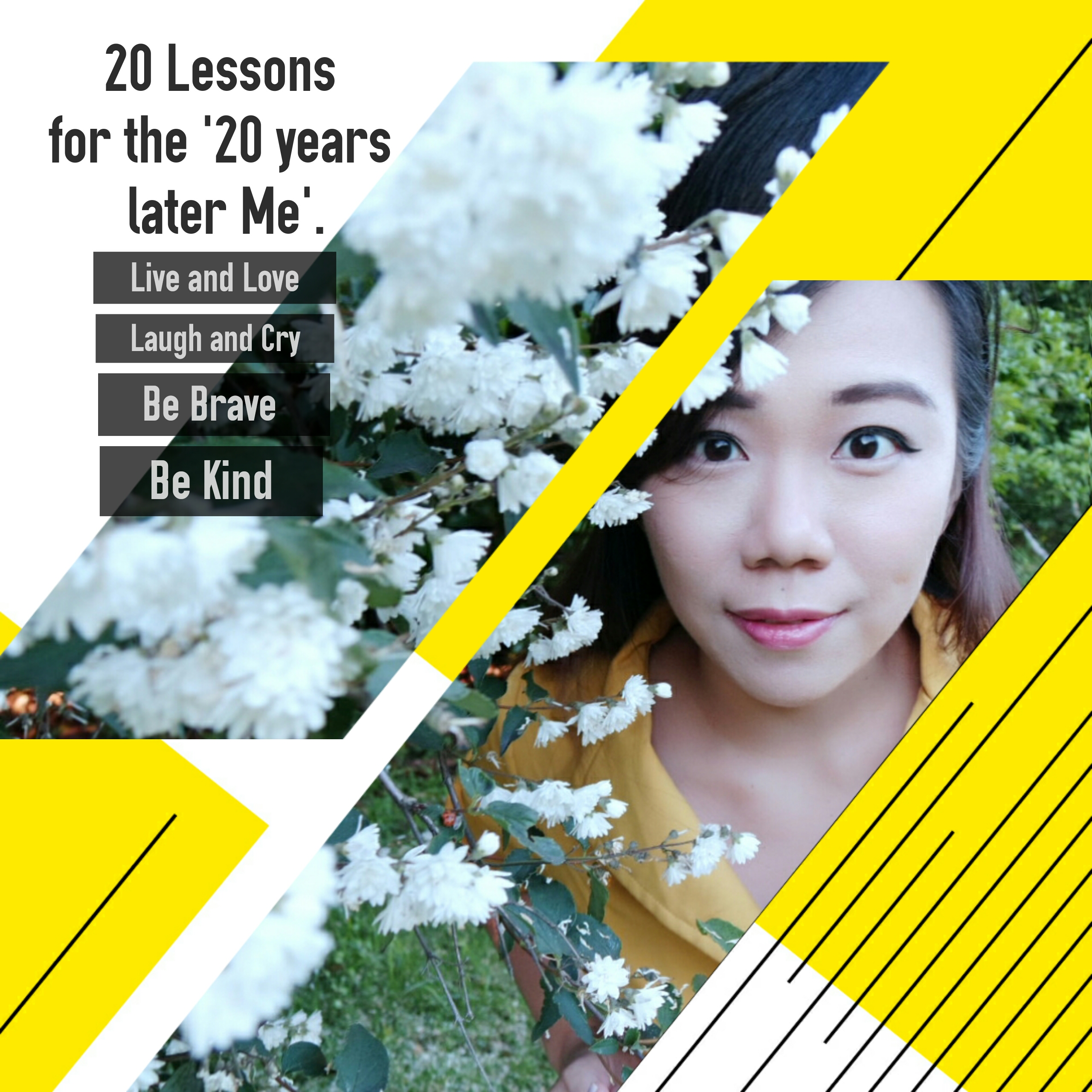 20 lessons for the future me