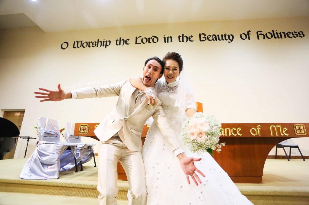 Church Wedding DIY