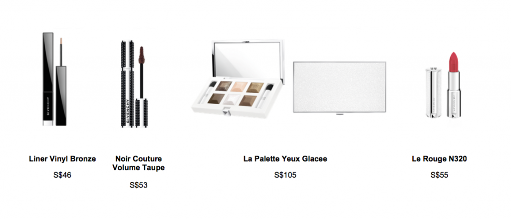 Givenchy Holiday 2015 Les Nuances Glaces