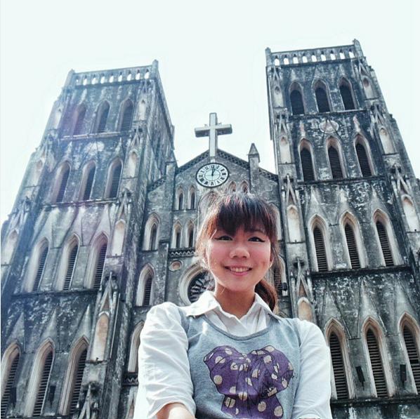 Jan 2015 Solo Trip to Hanoi St. Joseph's Cathedral