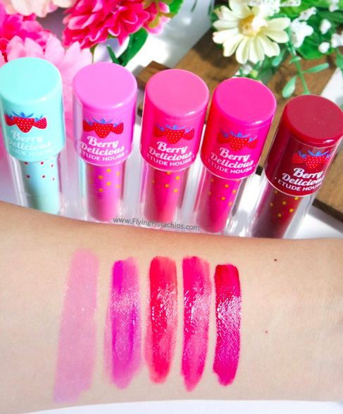Berry Delicious Colour in Liquid Lips Juicy