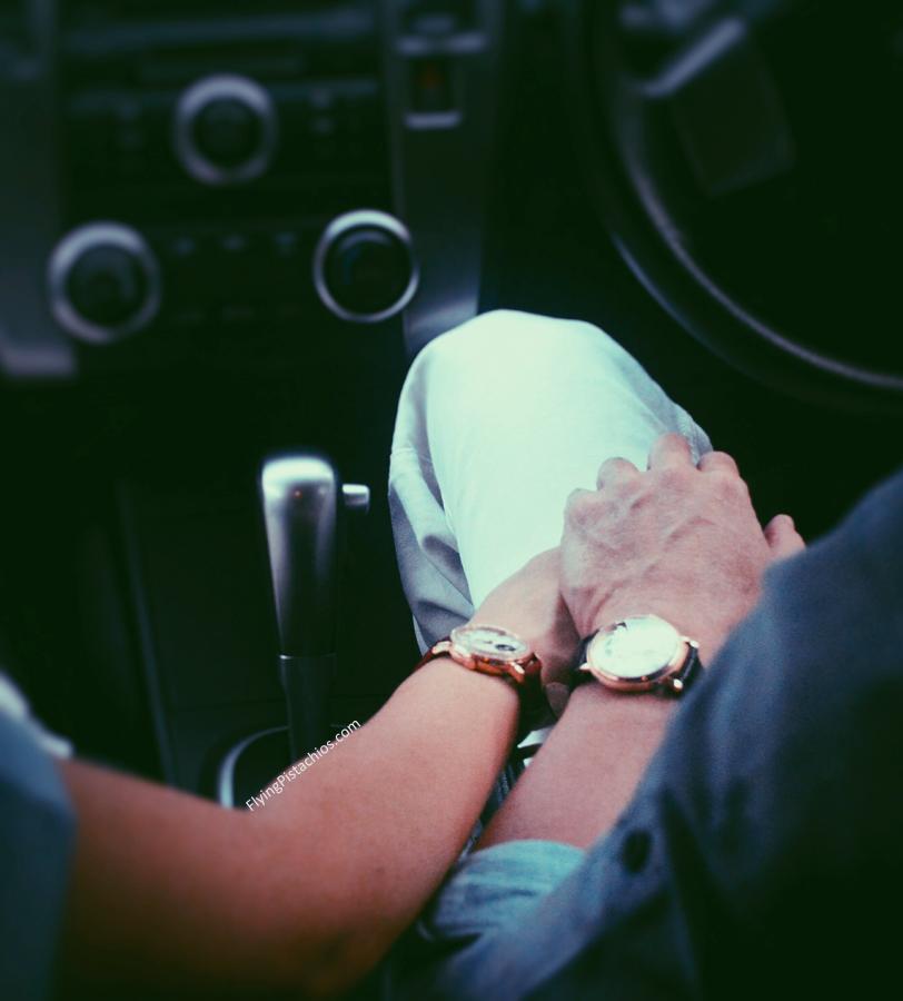 Romantic Classic Couple Watch